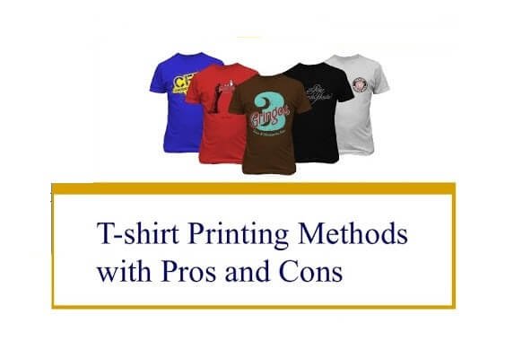 Different T-Shirt Printing Methods