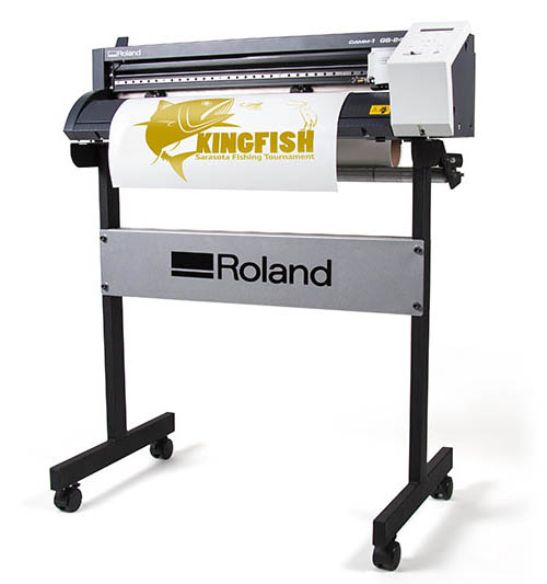 Roland Gs24 vinyl cutter with stand