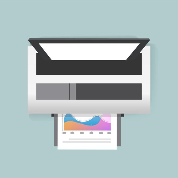 vector of printer icon