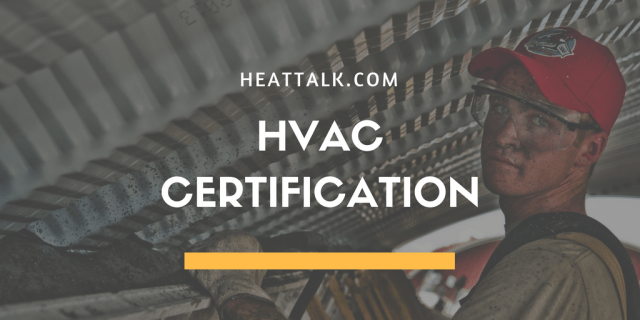 HVAC CERTIFICATION GUIDE