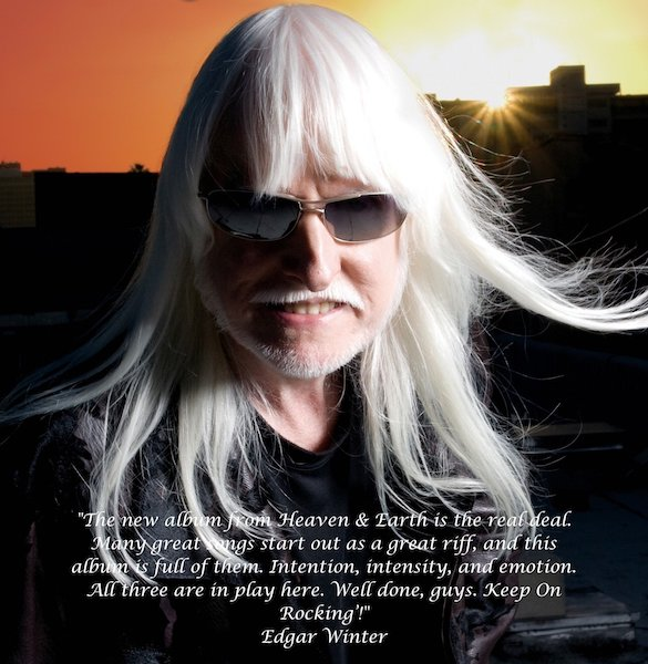 Edgar Winter Quote on the New Album Hard To Kill from Heaven and Earth