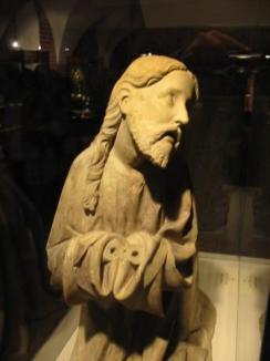 kneeling jesus - front