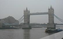 Tower Bridge in the fog