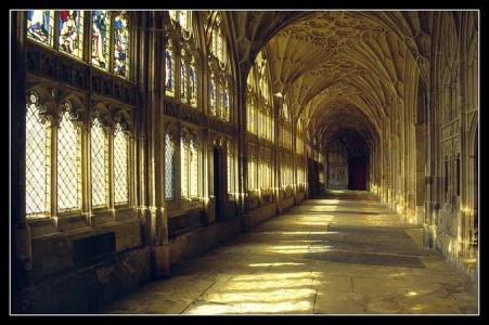 The Cloisters of Gloucester Cathedral