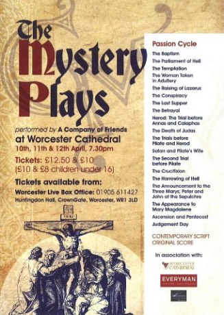 Mystery Play at Worcester Cathedral