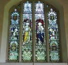 Stained glass in the chapel