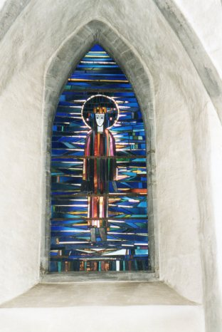 Window in the Cathedral at Bergen