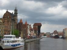 Boats in Gdansk, Poland