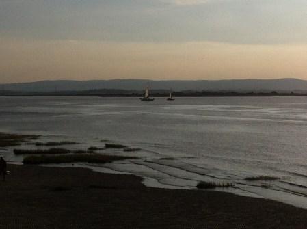 Burnham tide coming in