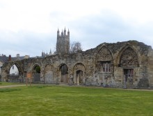 St Oswald's Priory Wall