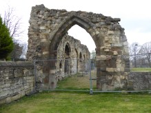 St Oswald's Priory Wall2