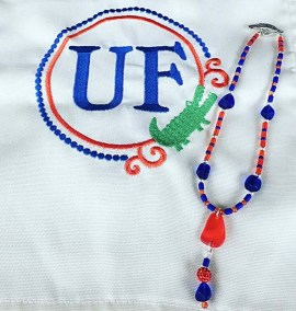 Gator jewelry custom designed