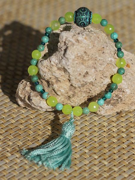 Yoga Bracelets with Tassel