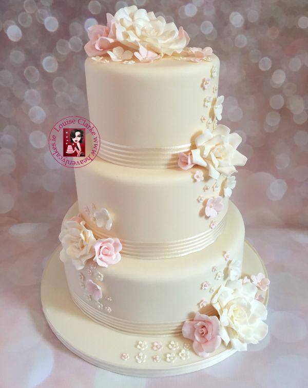 Wedding Cakes In Ireland By Louise Clarke Irish Wedding