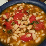 Tomato, Basil and White Bean Salad