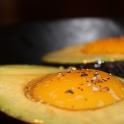 Baked Avocados With Quinoa