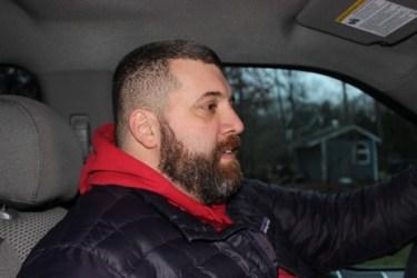 Driving with Chef Jeffery Purrazzi