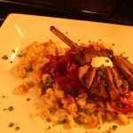 Spätzle With Lamb & Apple Braised Cabbage