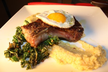 Pork, Greens & Grits