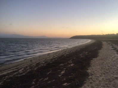 Yanakie shoreline
