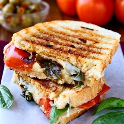 Caprese Panini Sandwich