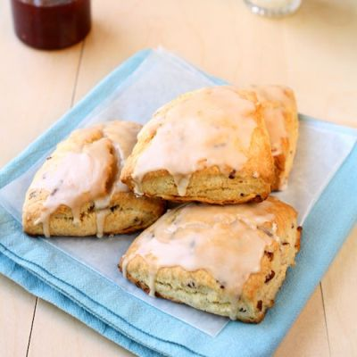 Maple Pecan Scones for Two