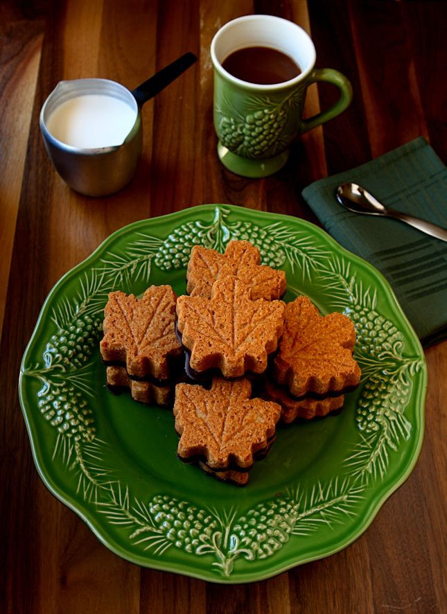 Maple Shortbread Cookies Dipped in Dark Chocolate | With just 5 ingredients you can whip up these extraordinary chocolate-dipped maple shortbread cookies in no time. Easy and tasty! | www.heavenlyhomecooking.com