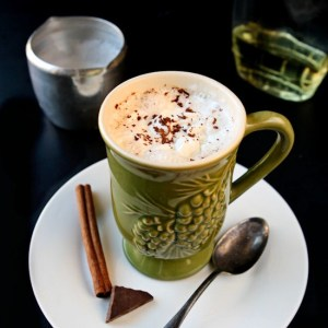 Almond Roca Mocha | Be your own barista. Make your own delicious almond roca mocha at home. Super easy. Super delicious! | heavenlyhomecooking.com