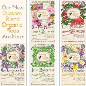 All teas Organic blends Heavenly Honey