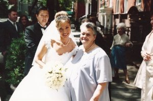 Me and Abuelita on my Wedding Day
