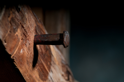 Nail-in-cross-istockphoto