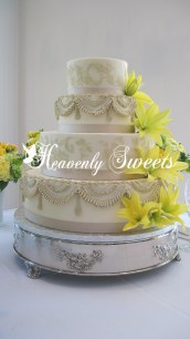 Heavenly Sweets Design with Chic Rose Stencil