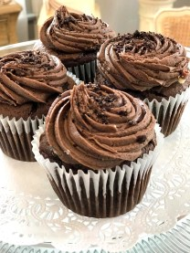 Devilicious; Chocolate Cake with Chocolate Icing