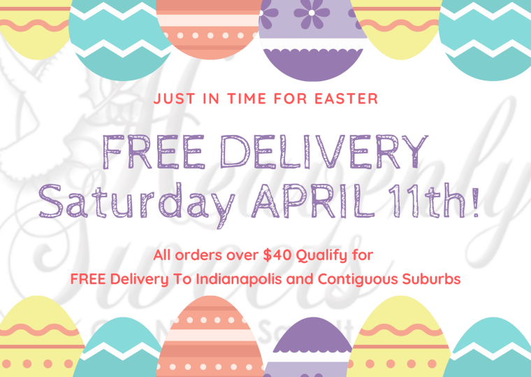 Free Delivery for Easter
