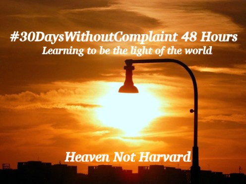 30 Days Without Complaint 48 hours
