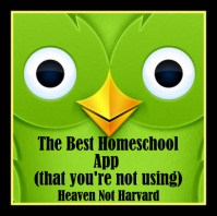The Best Homeschool App (you're not using)