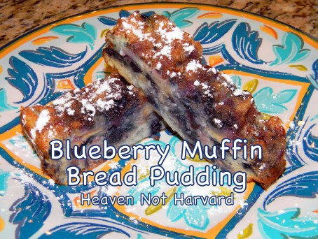 Scrambling to make something great with leftovers? This delicious Blueberry Muffin Bread Pudding recipe solved my crisis with empty plates in record time.