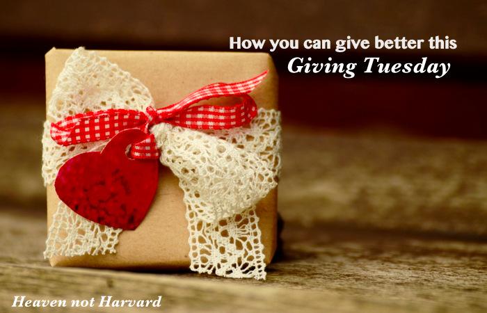 How you can give better this Giving Tuesday