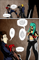 "BladeChick comic | ""Backstage"""