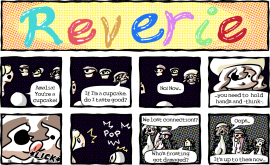 "New Reverie comic: ""Cupcake Advice (Destroyed by Taste)"""