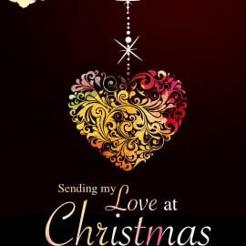 Sending my love at Christmas