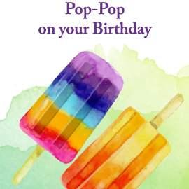 Pop Pop Birthday Card