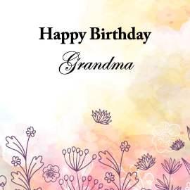 GMom Birthday