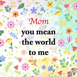 Mom, The World