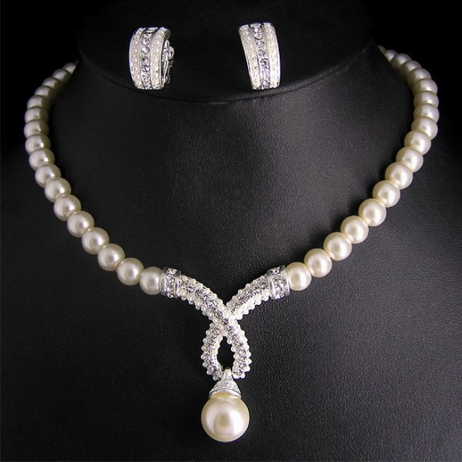 Pearl Jewellery Set 1