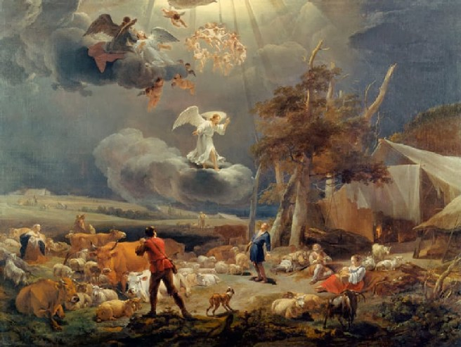 annunciation_shepherds Nicoleas Bag