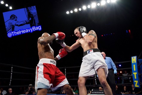 Ivan Gonzalez vs. Brandon Johnson in what might have been the fight of the night