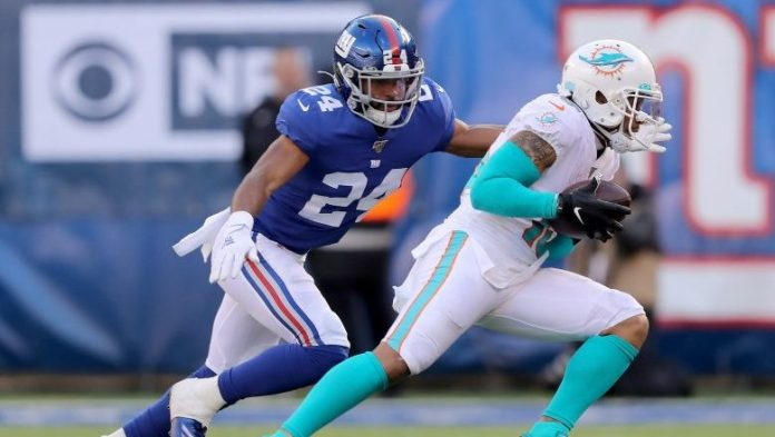 Giants defensive back is officially listed as a cornerback on team's website