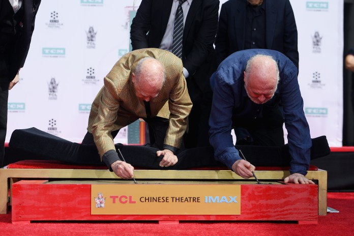 Rob Reiner and Carl Reiner