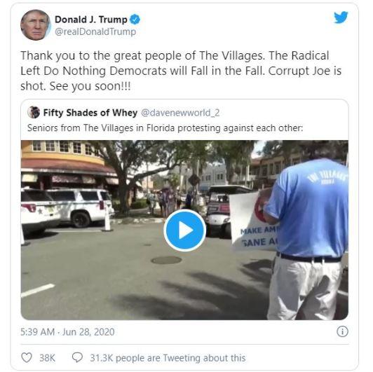 trump screen shot